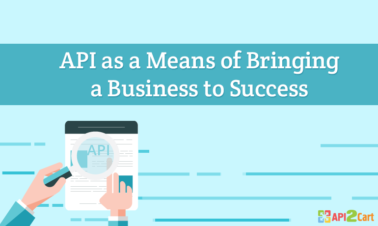 API as a Means of Bringing a Business to Success