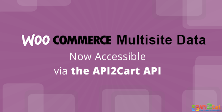WooCommerce Multisite Data Now Accessible via the API2Cart API