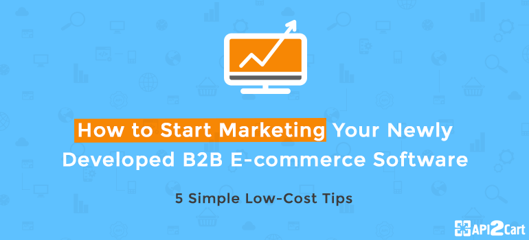 How to Start Marketing Your Newly Developed B2B E-commerce Software: 5 Simple Low-Cost Tips