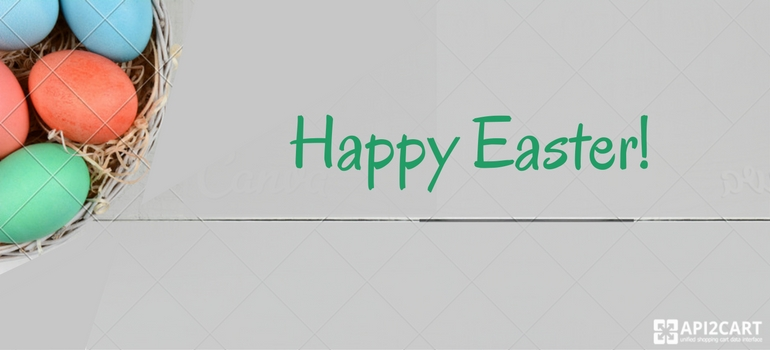 Happy Easter from API2Cart! (Limided Support Hours)